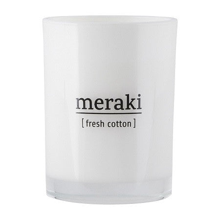 'MERAKI' Fresh cotton candle