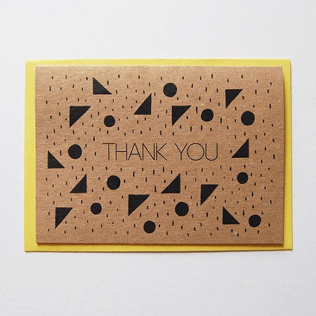 Thank you card by Laura Knight