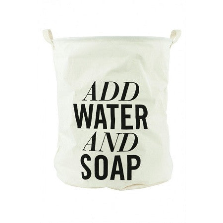 Add Water & Soap Laundry Bag