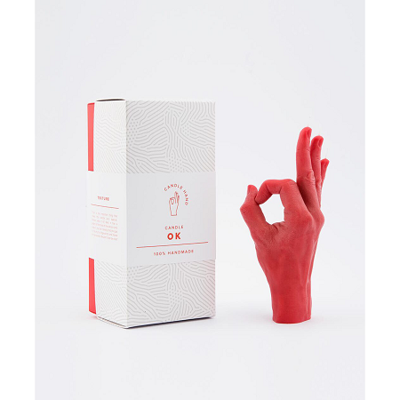 HAND GESTURE CANDLE-OK