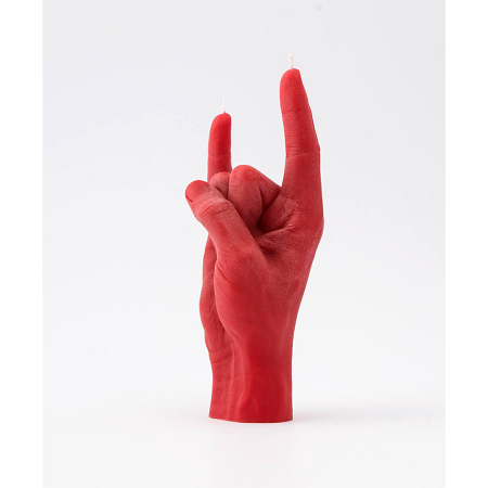 HAND GESTURE CANDLE -YOU ROCK