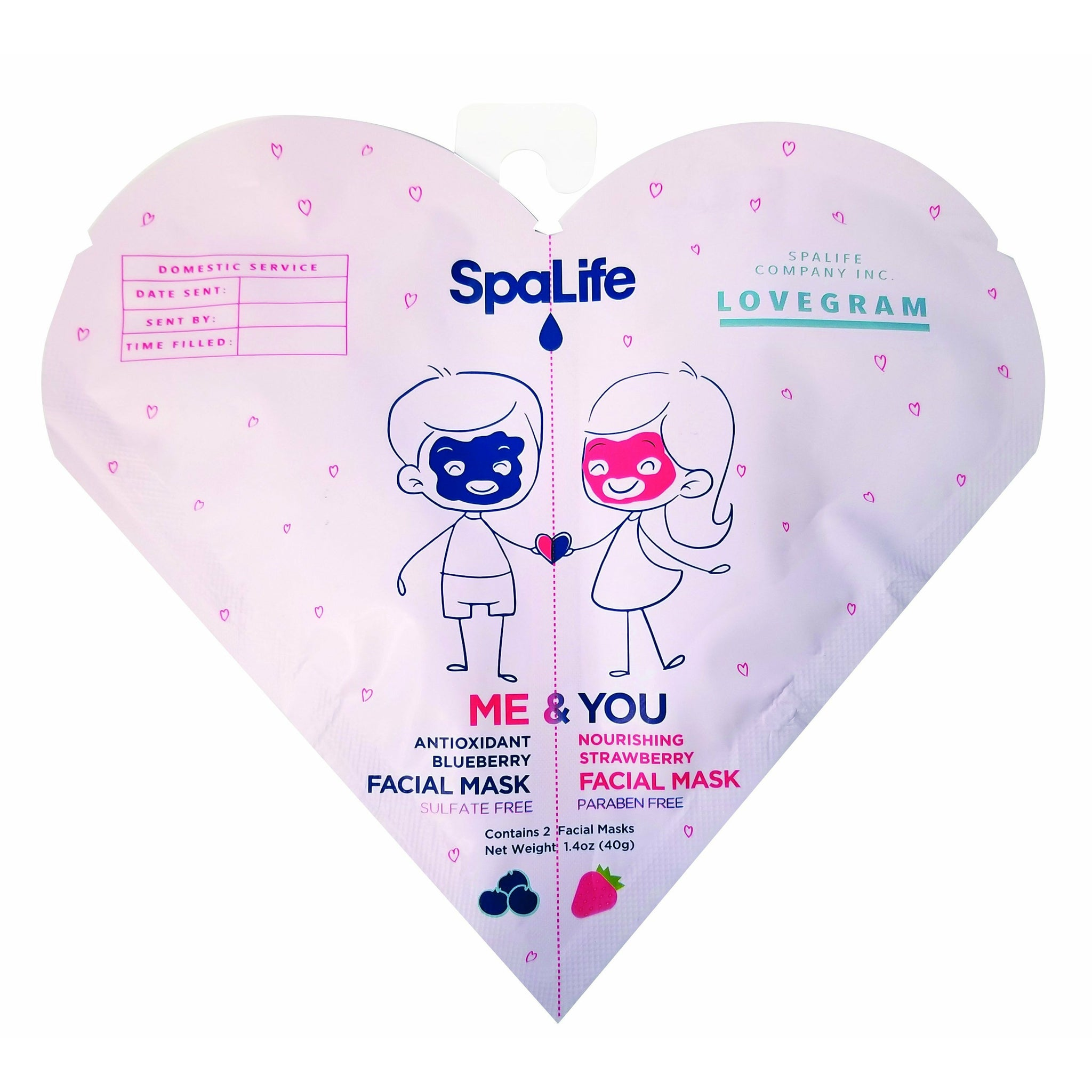 SALE - Me & You Couple's Facial Masks
