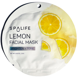 Lemon Facial Mask - Brighten & Tone