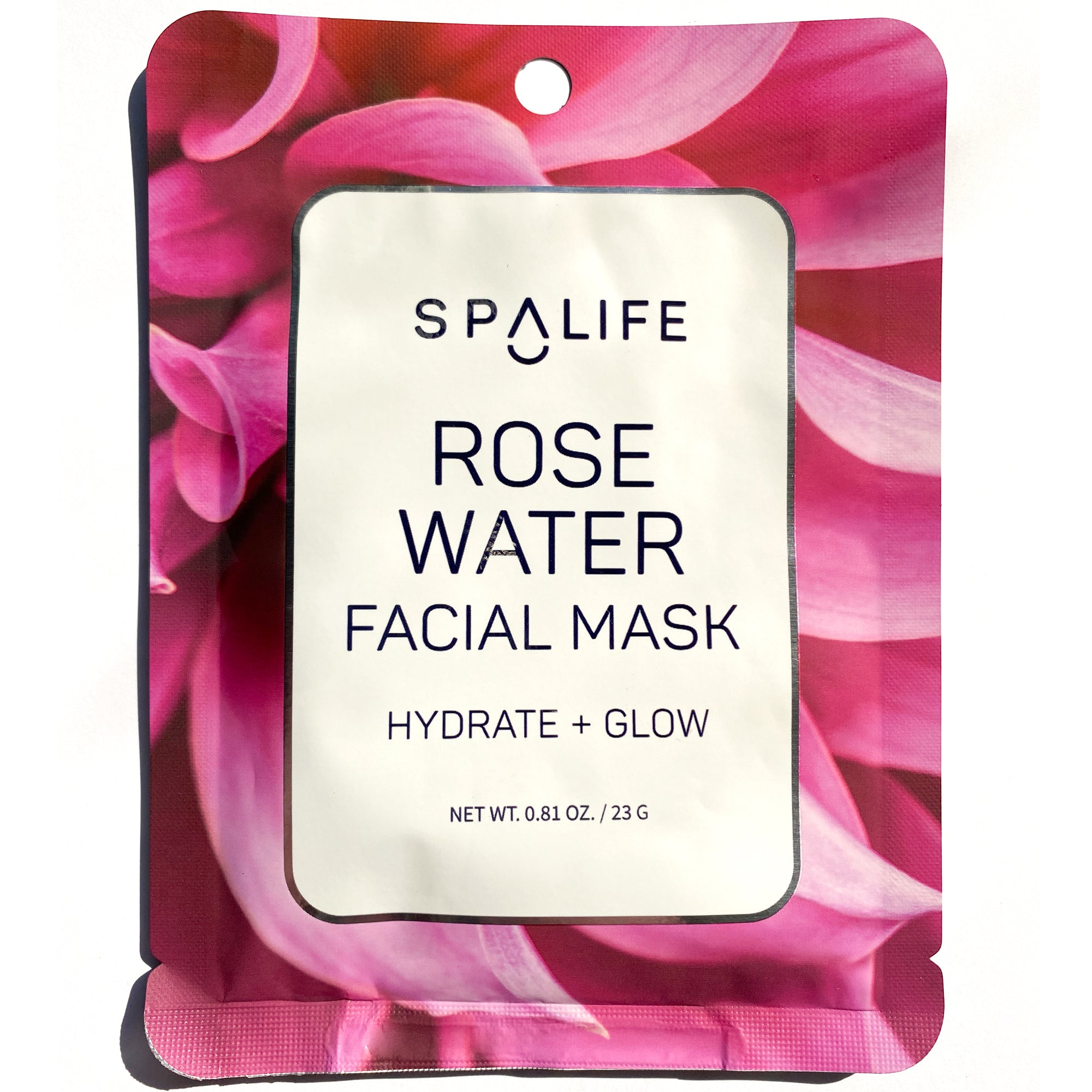 Rose Water Facial Mask - Hydrate & Glow