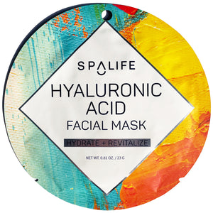 Hyaluronic Acid Facial Mask - Hydrate & Revitalize