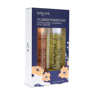 Flower Power Serum Duo - Rose + Chamomile