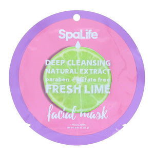 Deep Cleansing Lime Natural Extract Facial Mask
