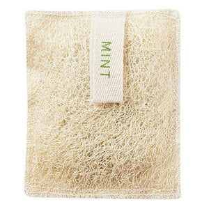 Loofah Bath Mitt With Soap - Mint