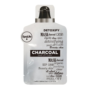 SALE - Charcoal Peel Off Facial Mask Pouch