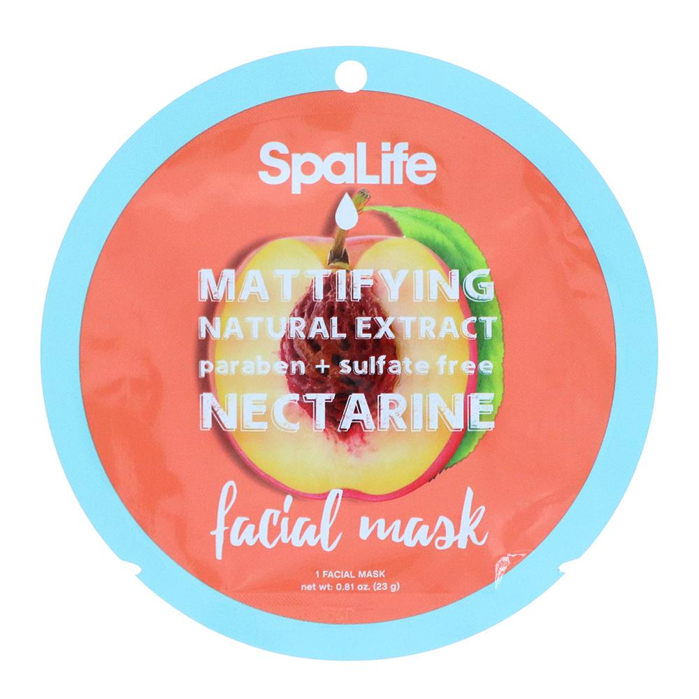 SALE - Mattifying Nectarine Natural Extract Facial Mask