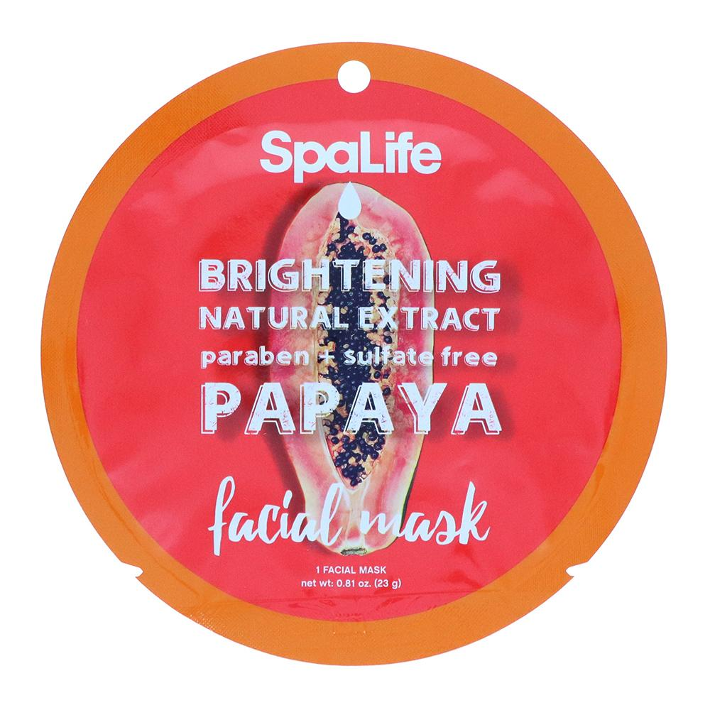 Brightening Papaya Natural Extract Facial Mask