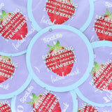 SALE - Refreshing Strawberry Natural Extract Facial Mask