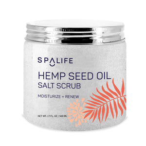 NEW! Hemp Seed Oil Salt Scrub