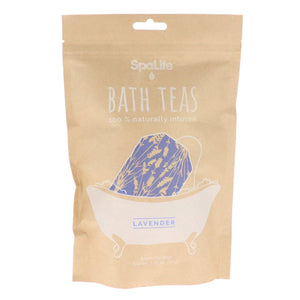 100% Naturally Infused Bath Teas – Lavender