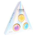 SALE - Geode Bath Bomb Trio
