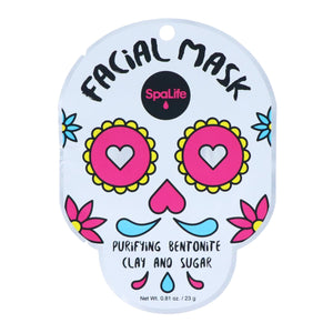 Purifying Sugar Skull Facial Mask - Infused with Bentonite Clay + Sugar