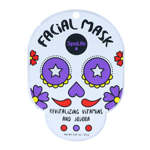 Revitalizing Sugar Skull Facial Mask - Infused with Vitamins + Jojoba