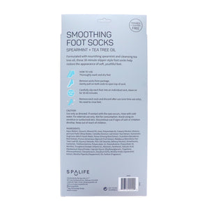 Smoothing Foot Socks - Spearmint + Tea Tree Oil