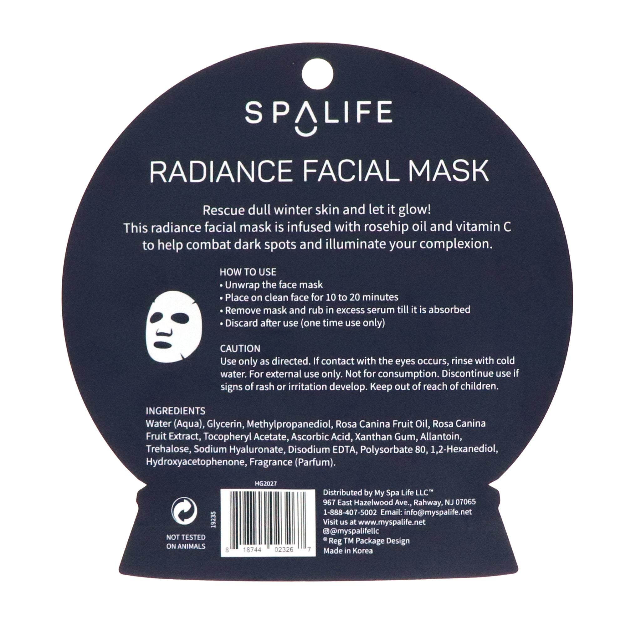 Let it Glow - Radiance Facial Mask