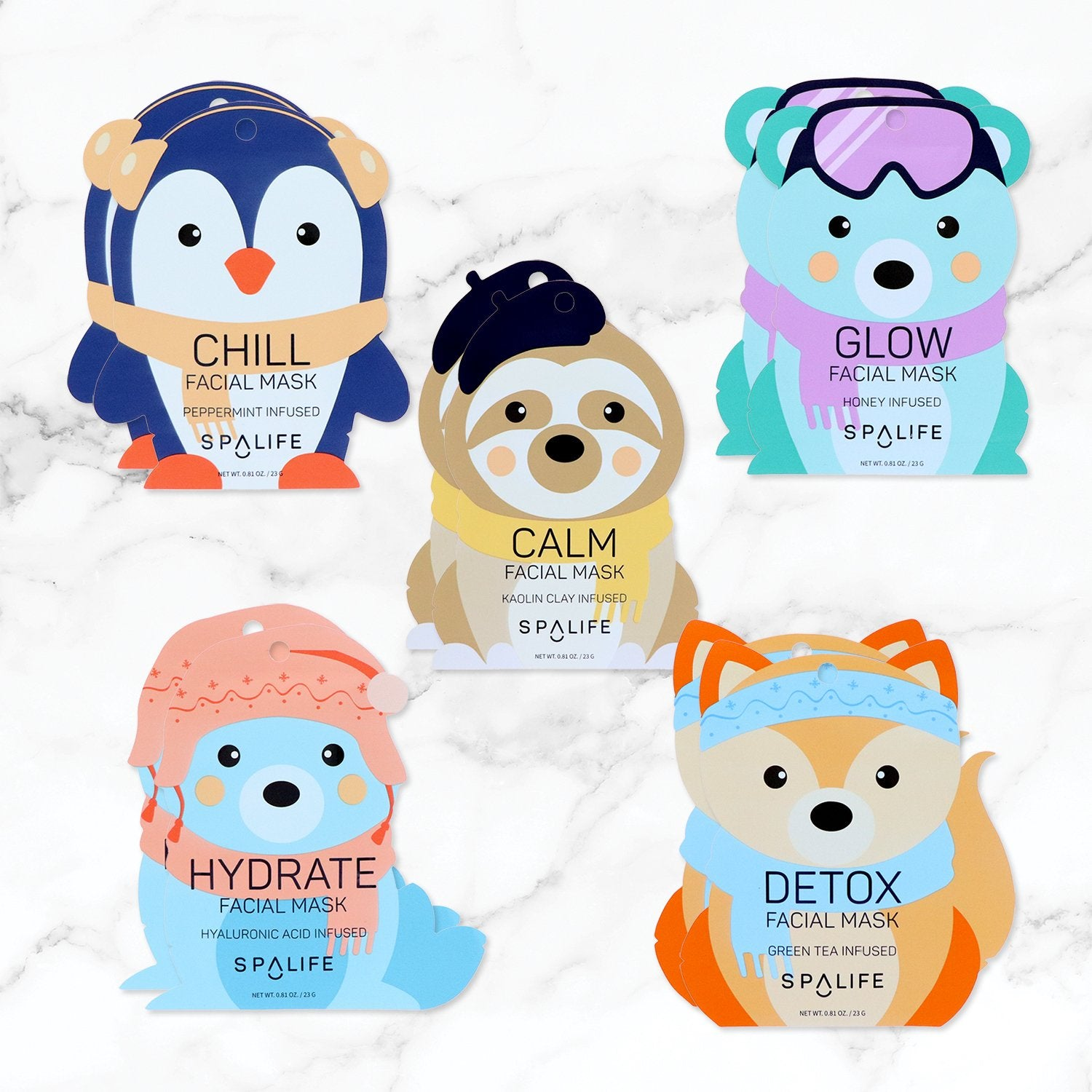 Snow Buddies Facial Mask Bundle
