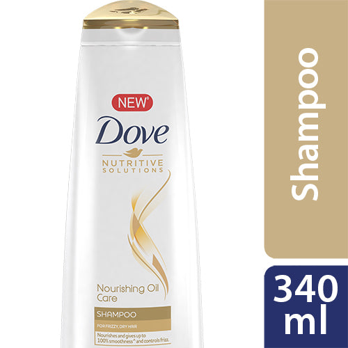 Dove Shampoo Nourishing Oil Care 340ml