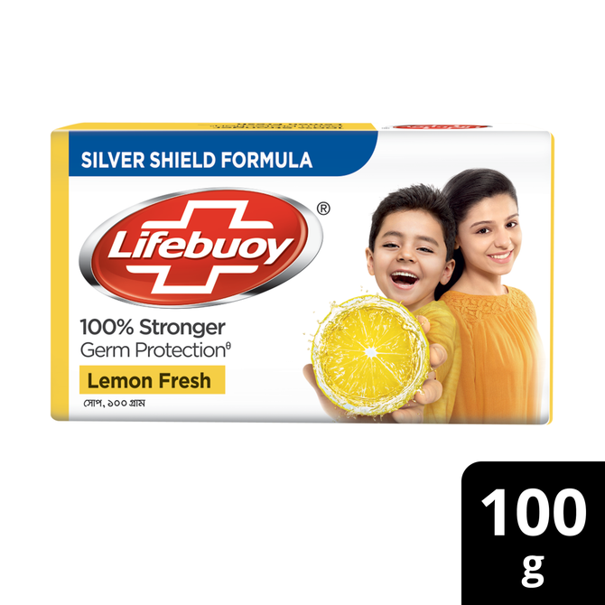 Lifebuoy Soap Bar Lemon Fresh 100g