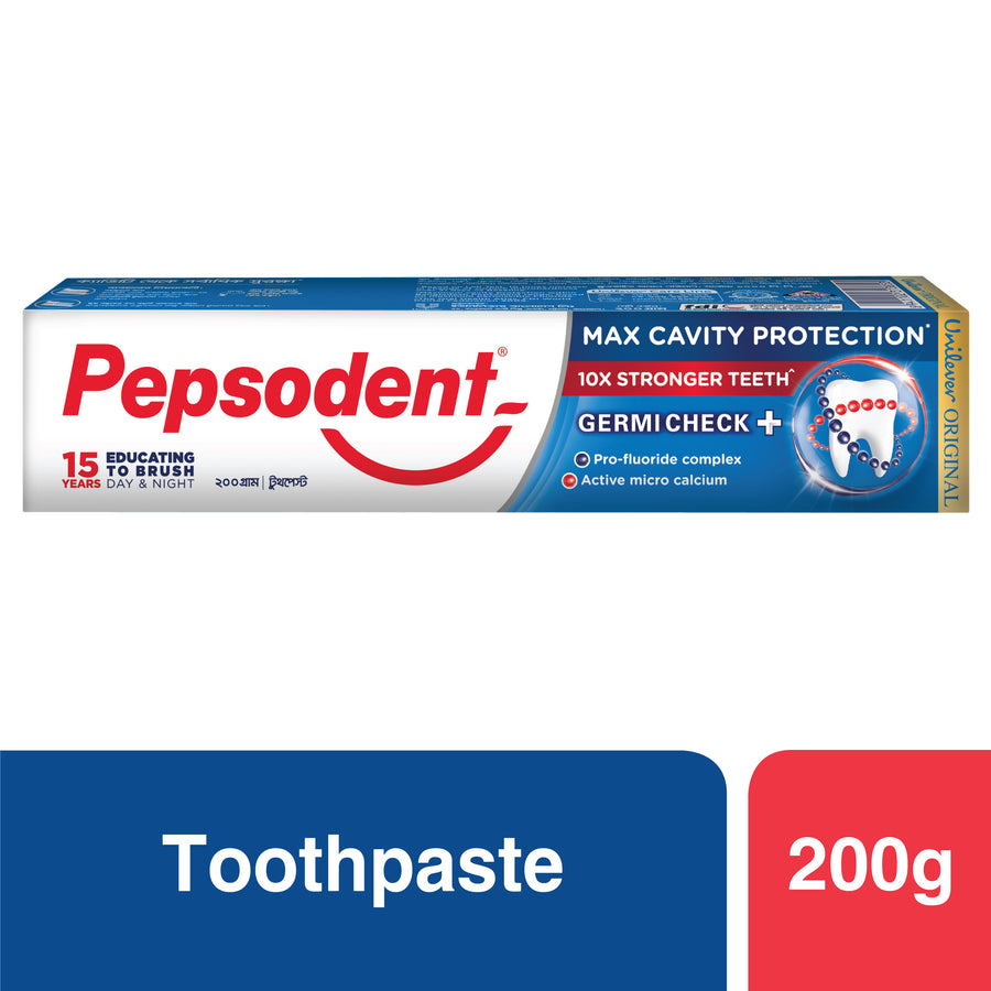 Pepsodent Toothpaste Germi-Check 200g