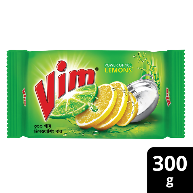 Vim Dishwashing Bar 300g