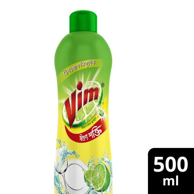 Vim Dishwashing Liquid 500ml