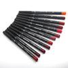 12 Colors Lip Liner Pencil Waterproof Non-Marking