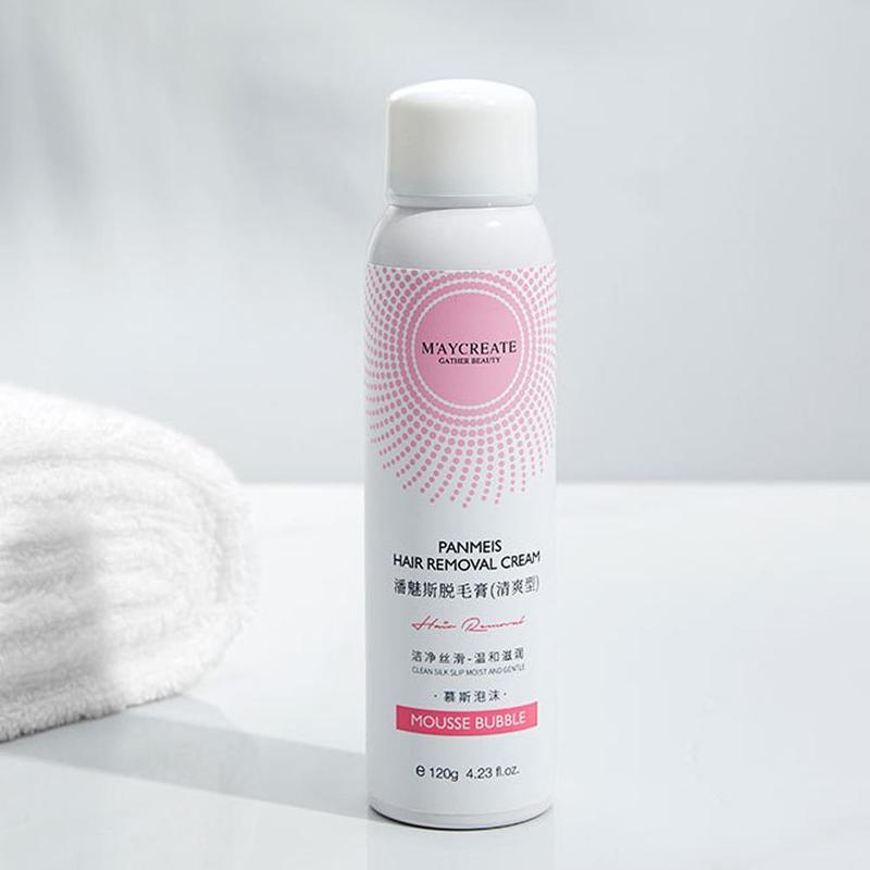 Natural Painless Hair Remover Mousse Spray Beautifily