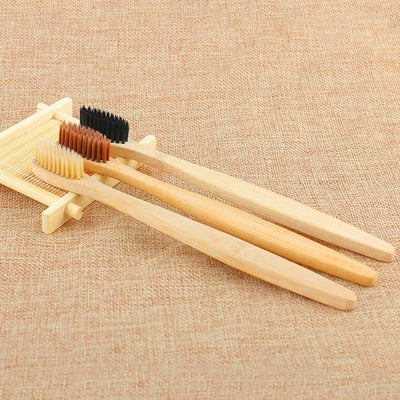 Charcoal Infused Bamboo Toothbrush - Beautifily
