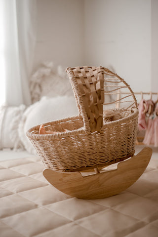 Jute Dolly Cradle