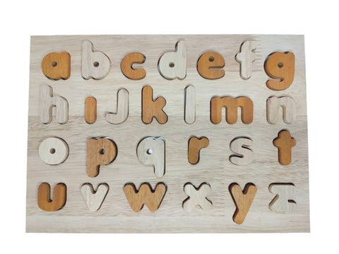 Natural Lower Case Alphabet Puzzle