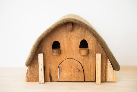 Gnome House with Felt roof