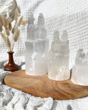 Selenite Twin Towers