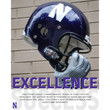 Northwestern Wildcats Excellence Motivational Poster