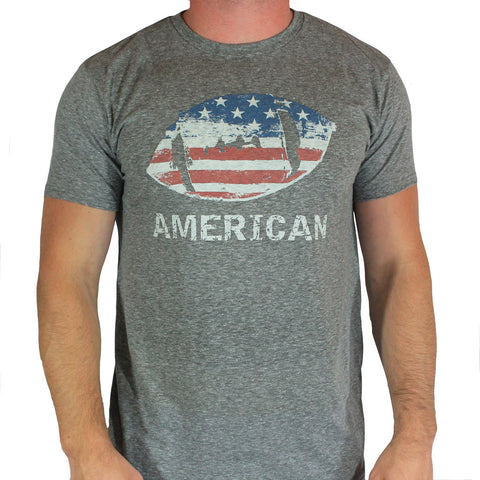 American Football Heathered Tee