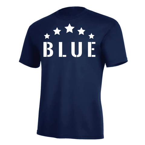 Five Star Blue Pro Tee