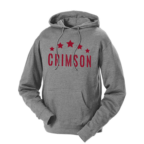 Five Star Crimson French Terry Hoodie