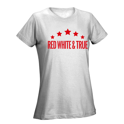 Five Star Red Ladies Tee