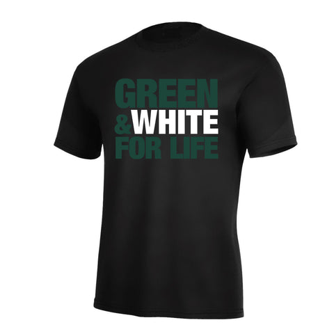 Green & White For Life Pro Tee