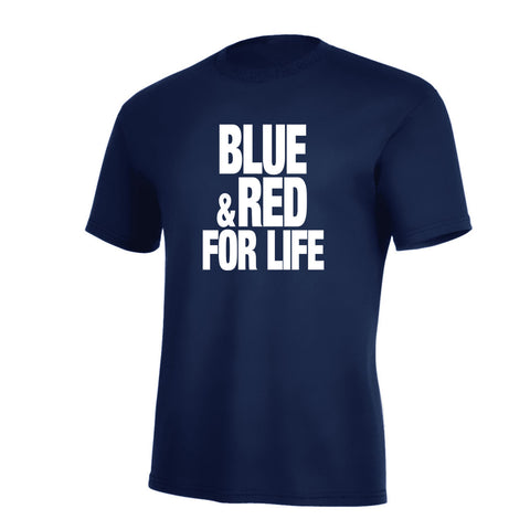 Blue & Red For Life Pro Tee