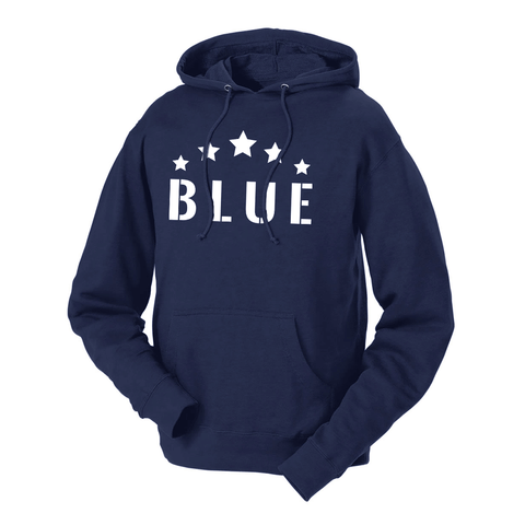 Five Star Blue French Terry Hoodie