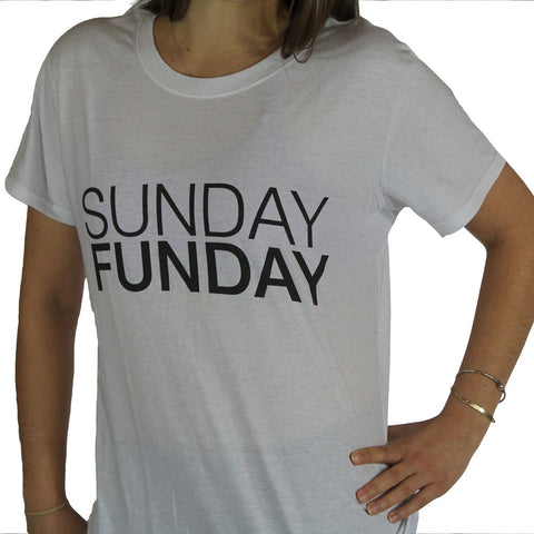 Sunday Funday Ladies Tee