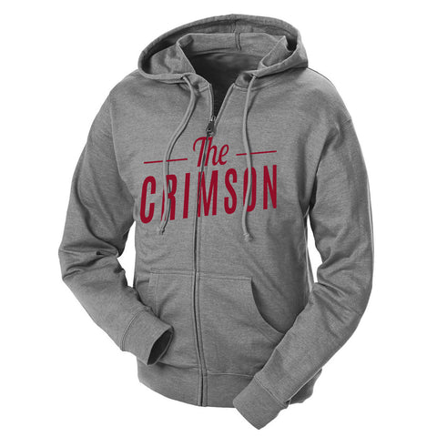 The Crimson French Terry Zip Hoodie