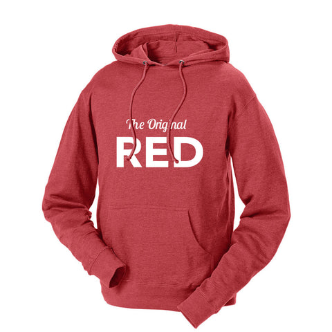 The Original Red French Terry Hoodie