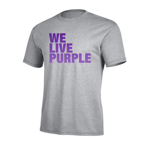 We Live Purple Pro Tee