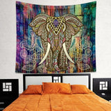 Psychedelic Dream Elephant Tapestry
