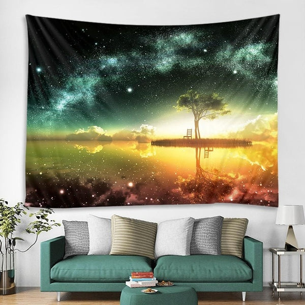 Celestial Oasis Tapestry